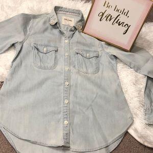 Abercrombie kids Jean shirt